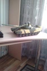 радиоуправляемая модель танка Т-72